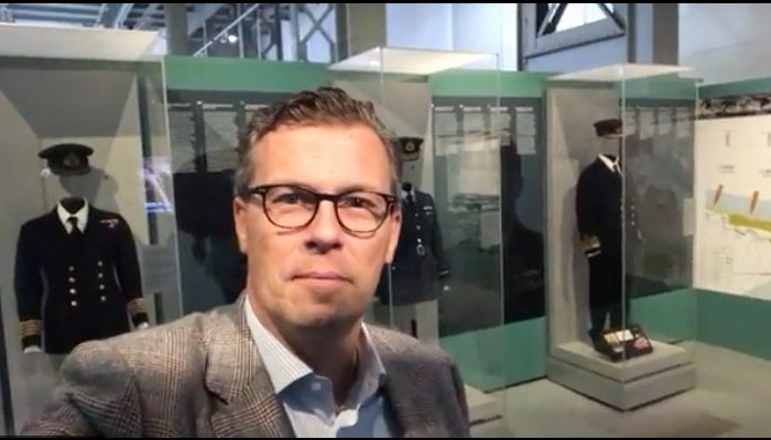 A vlog in The Royal Museum of the Armed Forces and Military History in Brussels